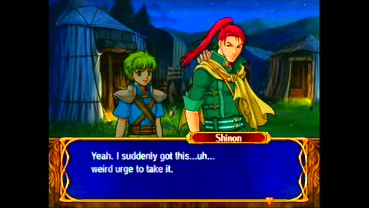 fire emblem path of radiance how to spam support