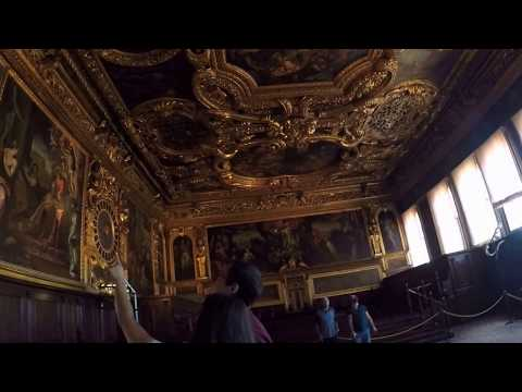 Tour of Doge's Palace in Venice