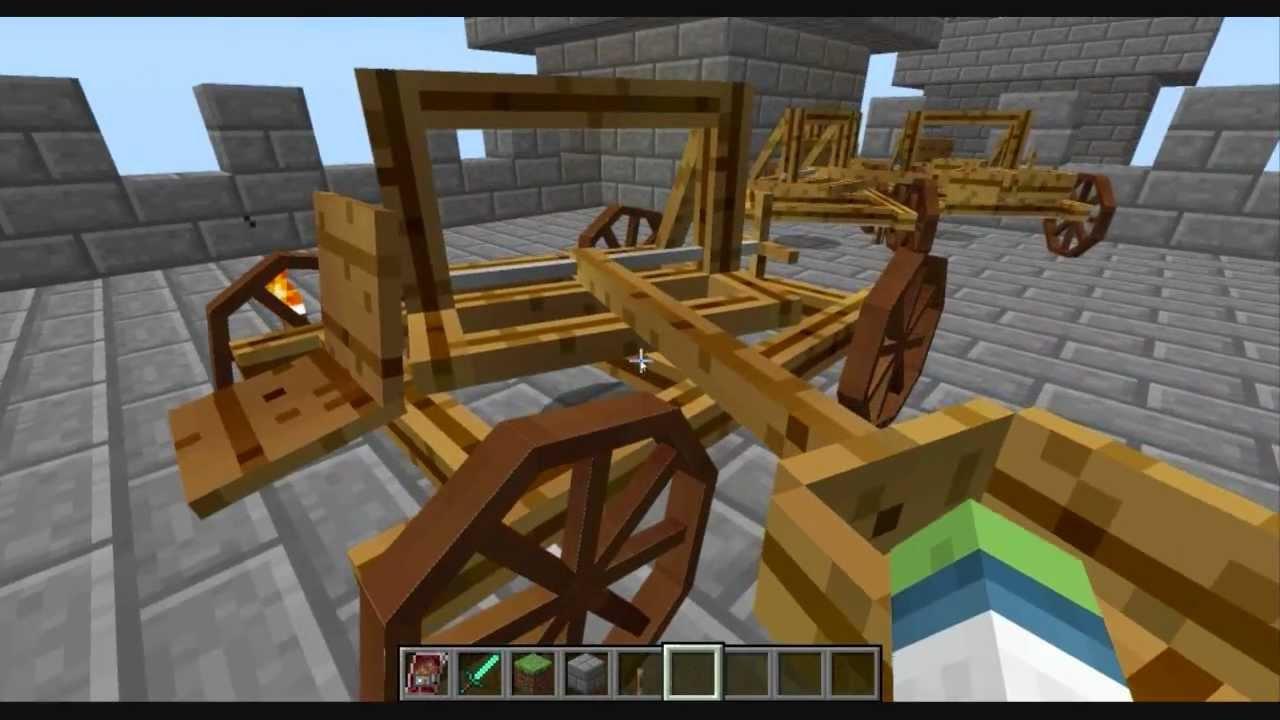 Мод майнкрафт 1.6.4 ancient warfare через сайт майнкрафт inside