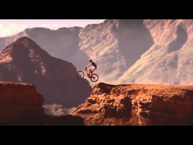 Супер крутые трюки на горном велосипеде!