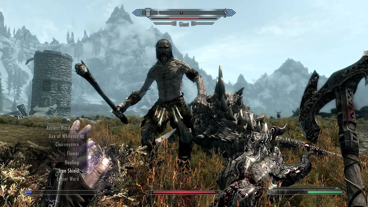 Image result for the elder scrolls v skyrim special edition gameplay