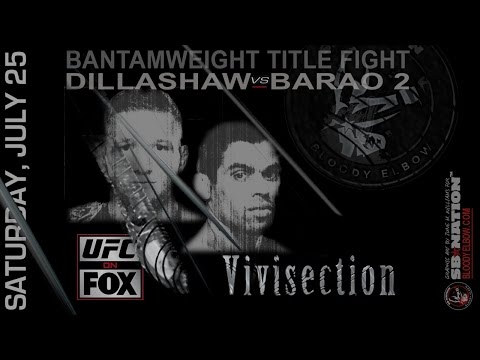 UFC on Fox Dillashaw vs Barao 2 preview, predictions & odds MMA Vivisection