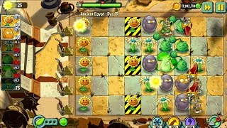 Plants vs Zombies 2 Ancient Egypt Day 15 16 17 Android Gameplay