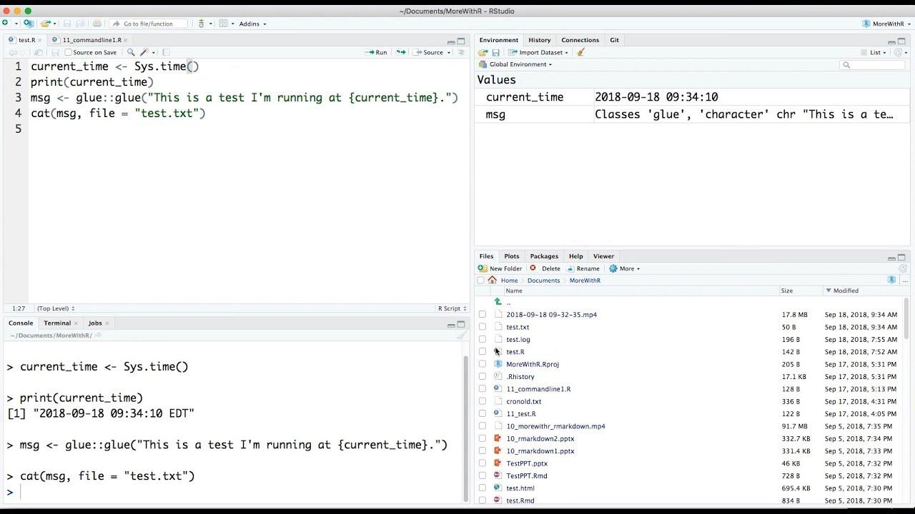 R tip: Schedule R scripts on a Mac