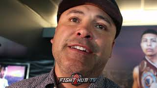 "OSCAR DE LA HOYA ON RELATING TO RYAN GARCIA ""I WAS A DIFFERENT BREED"" Video"