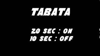Tabata Song. Rock song.