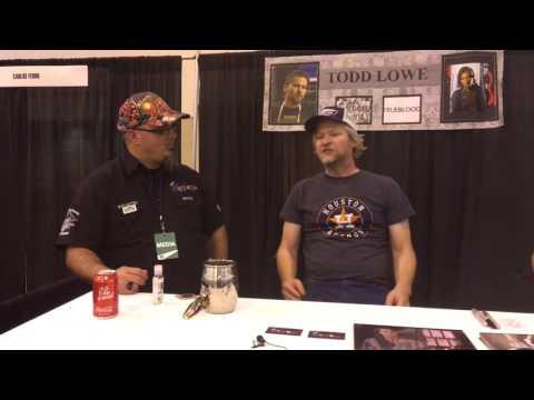 Todd Lowe Trueblood  at Space City Comic Con 2016