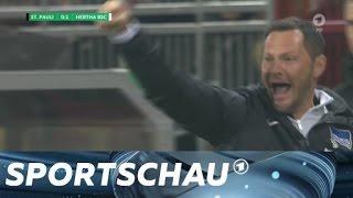 DFB-Pokal: St. Pauli chancenlos gegen die Hertha | Sportschau