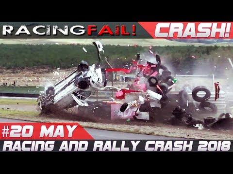 Racing and Rally Crash Compilation Week 20 May 2018 | Rally de Portugal