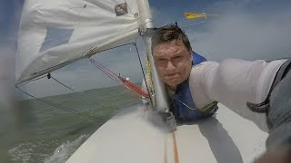 Laser Sailing in Good Winds & Waves; Music Video