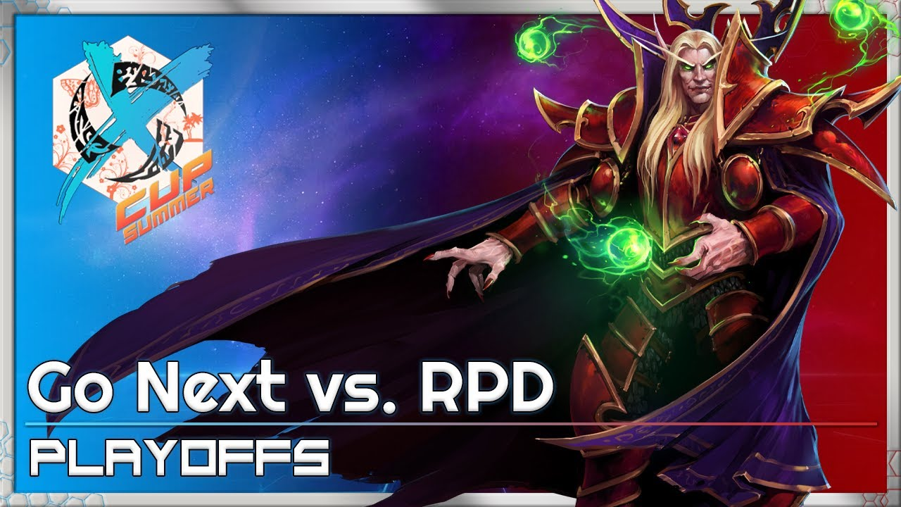 Go Next vs. RPD - XCup Playoffs - Heroes of the Storm Tournament
