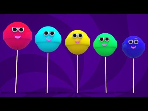 Lollipop Finger Family Poem | Nursery Rhyme Song For Kids And Children