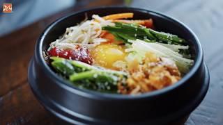 Hướng Dẫn Làm Cơm Trộn Hàn Quốc (Bibimbap) Chính Gốc | Học Nấu Ăn Ngon | Hướng Nghiệp Á Âu