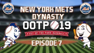 Out of the Park Baseball (OOTP) 19: New York Mets Dynasty - 2018-19 Offseason Part 1 [EP7]