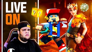 LIVESTREAM: FORTNITE & MINECRAFT PIXELMON HORA DO BOSS AM3NlC