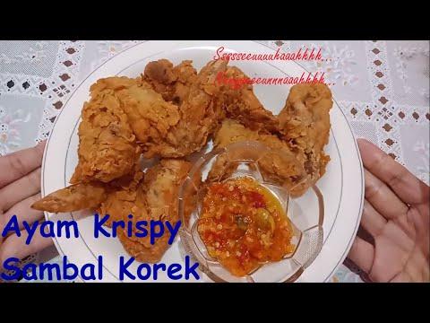 ayam-krispy-sambal-korek-ssseuuuuhaaahhh-nggguuuueeeenah-bun