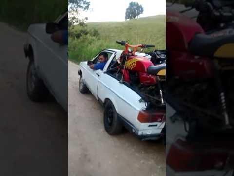 Continuação do carro com motor de moto teste de força