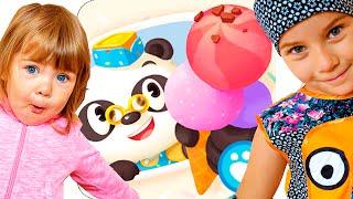 УГОЩАЕМ МОРОЖЕНЫМ ЗВЕРЕЙ - доктор Панда мороженое - Dr. Panda: мороженое #1