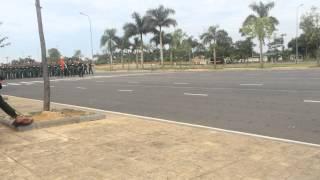 duyệt binh a70 hợp luyện cụm 4 lng văn ha bộ tư lệnh cng binh khối 14 15