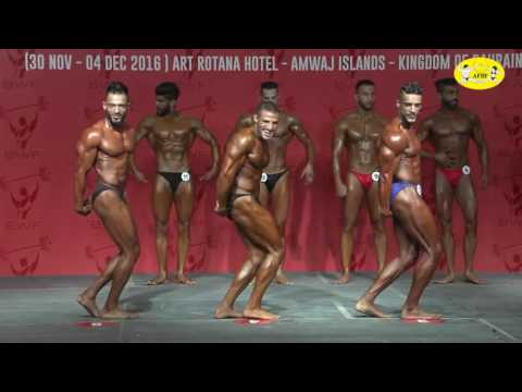 1st West Asian Men's Bodybuilding Championship   PHYSQUE – CLASSIC BODYBUILDING 2nd December 20161