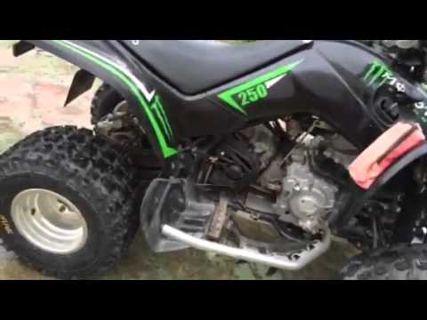 kymco kxr 250 sport monster youtube. Black Bedroom Furniture Sets. Home Design Ideas