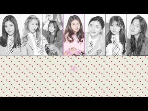 [Color Coded] Karaoke/Thaisub : Produce 101 - YUM YUM