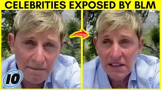 Top 10 Celebrities That Were Exposed By Black Lives Matter