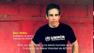 Ben Stiller Embajador de Buena Voluntad de ACNUR