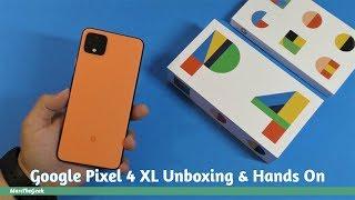 Google Pixel 4 XL Unboxing & Hands On (Oh So Orange)