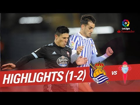 Resumen de Real Sociedad vs RC Celta (1-2)