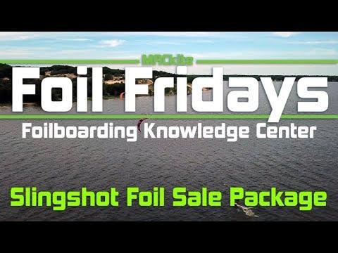 Foilboarding Sale Package: Slingshot Alien Air & Ride Engine Futura