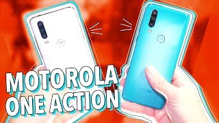 MOTOROLA ONE ACTION: UNBOXING E HANDS ON