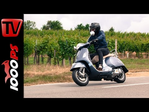 2015 Vespa GTS 250ie Test | Action, Fazit