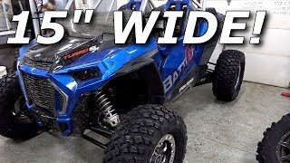 "RZR Turbo S on 15"" wide tires! Pro Armor Whiteout TEST!"