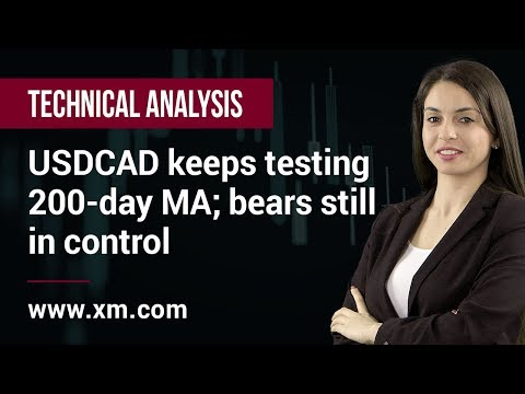 Technical Analysis: 01/03/2019 - USDCAD keeps testing 200-day MA; bears still in control