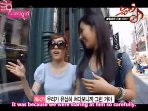 SNSD Jessica Teaches Yuri About America