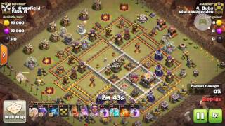 Clash of Clans - TH11 queen walk dragloon 3 star