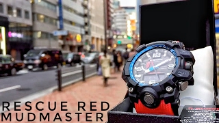G-Shock MUDMASTER GWG-1000RD-4AJF Rescue Red Master of G (unboxing + review)(Casio G-Shock MUDMASTER GWG-1000RD-4AJF Rescue Red Master of G (unboxing + review) - 2016 release. really really dope piece by casio this time., 2016-03-21T02:05:21.000Z)