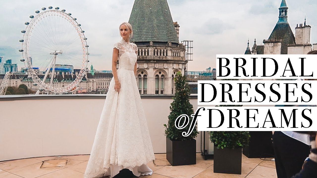 Huge WEDDING DRESSES Try On and Come Along to my BOOK TOUR