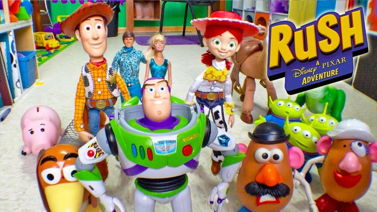 1be8ae7b5dae8 TOY STORY 3 Vídeos de Juegos de Caricaturas de Disney para Niños en Español  - Rush Disney  5