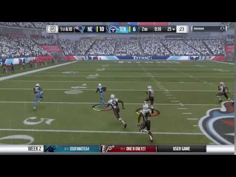 [Week 2] Williamson Beating Bump & Run Coverage For TD
