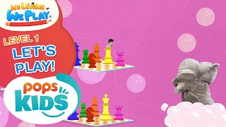 We Learn We Play Level 1 - Let's Play! - Học Tiếng Anh Cùng POPS Kids