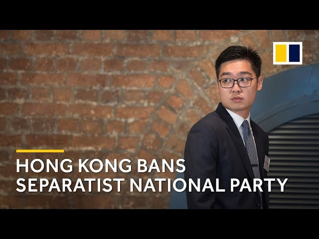 Hong Kong issues unprecedented ban on Andy Chan's separatist National Party