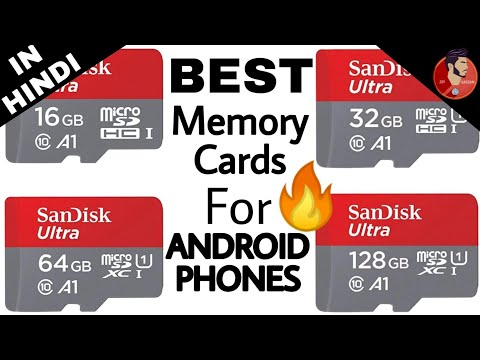 Best Memory Cards For Android Smartphone !!!! HINDI