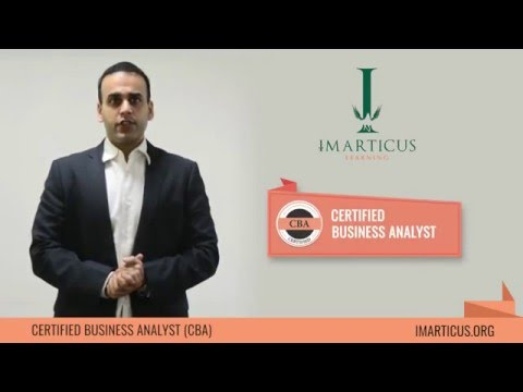 Certified Business Analyst - Introduction Video