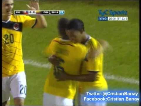 Chile 0 Colombia 3 (CX12 Radio Oriental) Sudamericano Sub 20 2015 Los goles