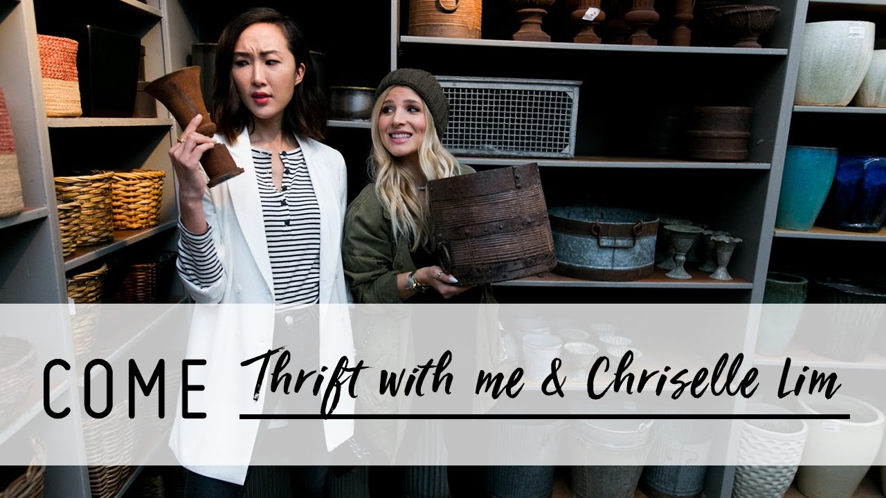 Thrift Store Shopping with Chriselle Lim and Mr. Kate