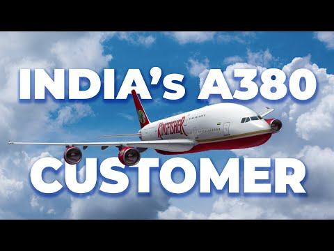 Kingfisher Airlines: The Indian Airbus A380 Operator That Never Was