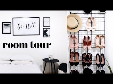 ROOM TOUR 2018 - MINIMALIST LOOK | Alice