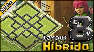 Layout Híbrido Cv8 Épico